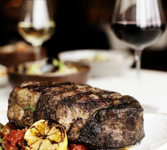 Steak dinner at Tavola Italian Kitchen + Bar, Minneapolis